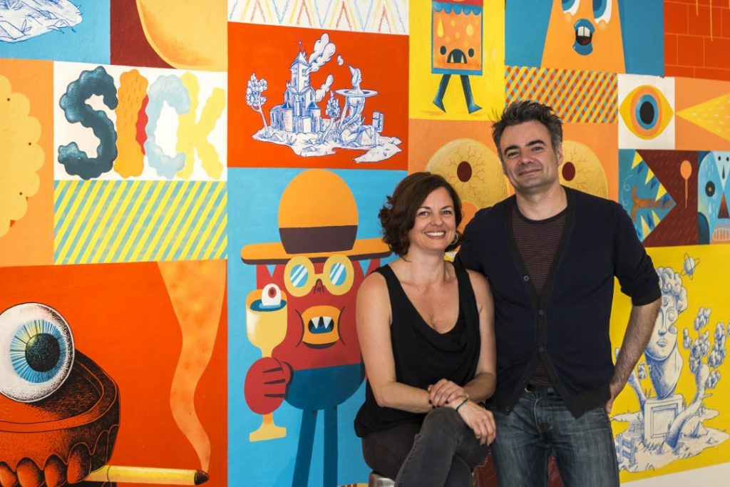 Effi & Laurent, fondateurs d'Arts Factory