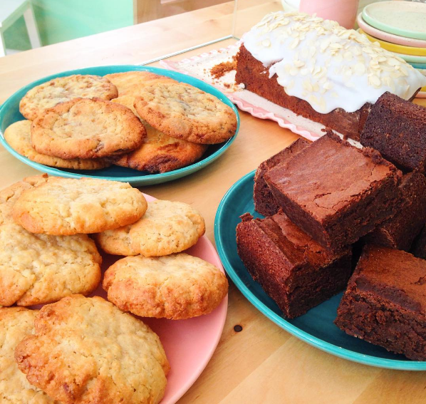 Cookies & Brownies © Aloha Café Instagram